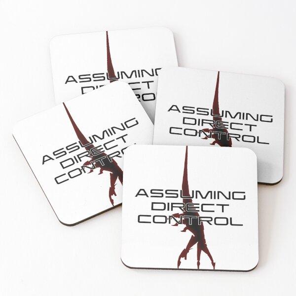 Mass Effect - Assuming Direct Control Coasters (Set of 4)