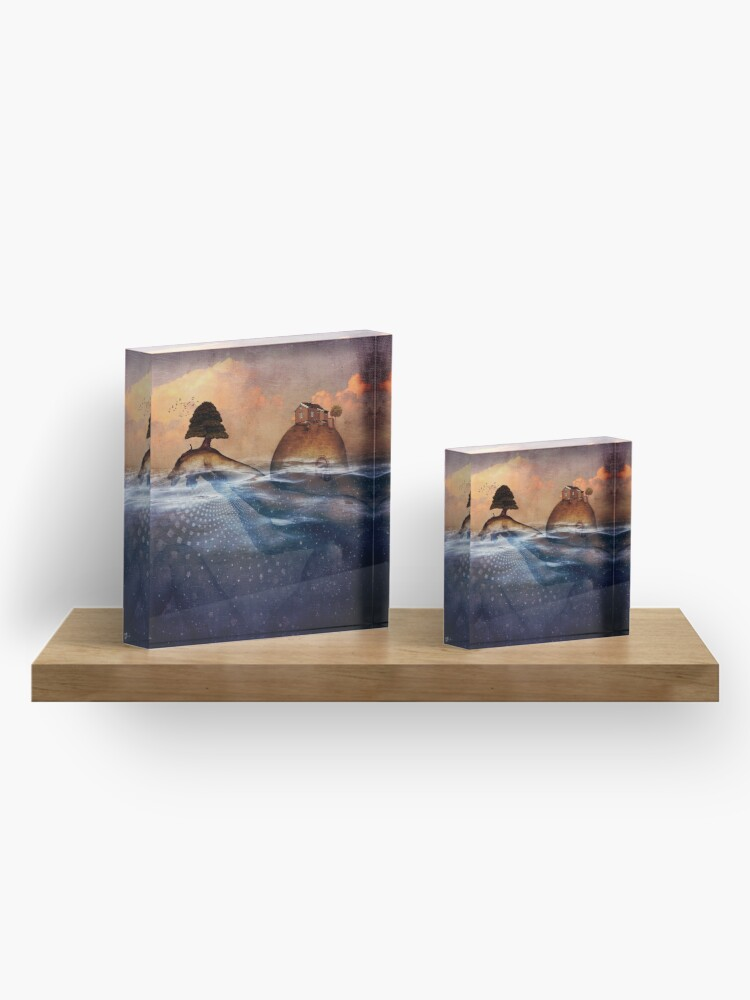 Alternate view of Release Me Acrylic Block