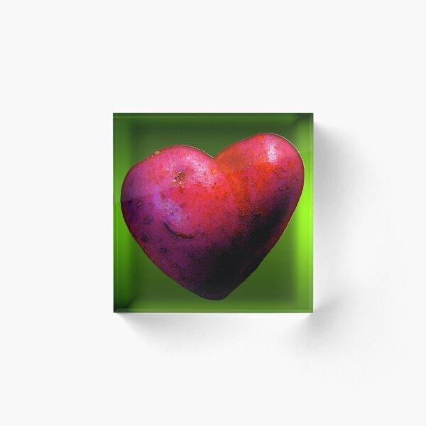 I LOVE Spuds! Acrylic Block