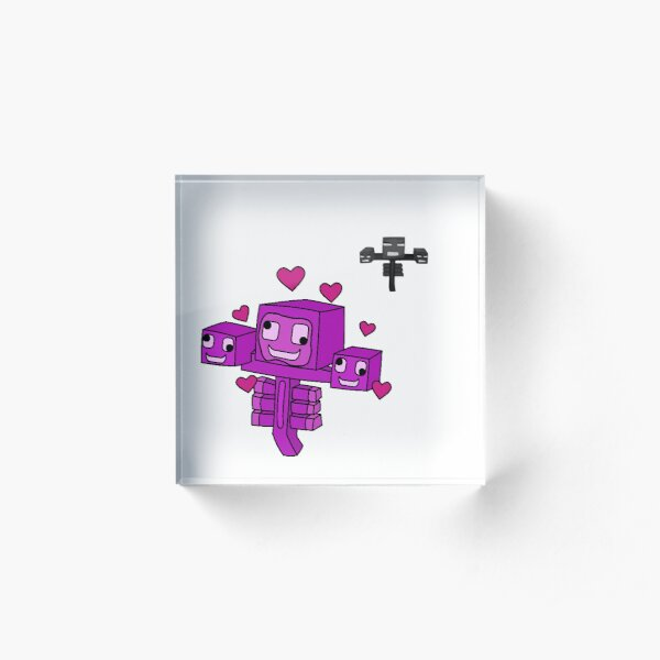 Friendly Wither Acrylic Block