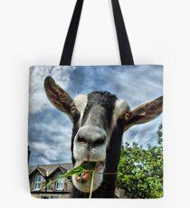 Nosy Goat .  Tote Bag