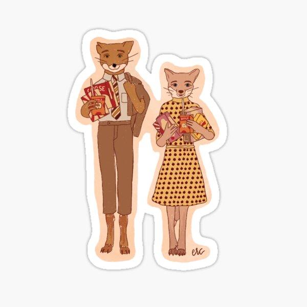Fantastic Mr. Fox Sticker