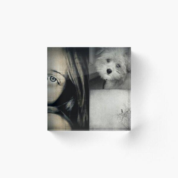 Sweet Dreams Acrylic Block
