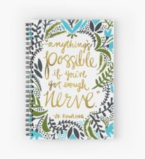 Anything's Possible Spiral Notebook