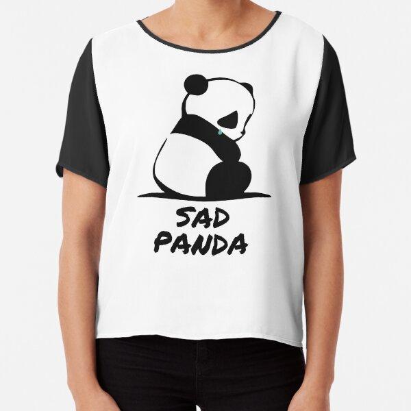 Sad Panda Chiffon Top