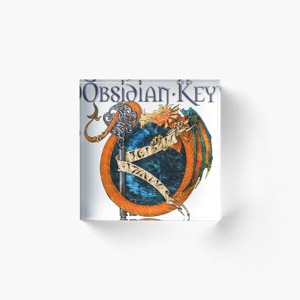 Obsidian Key - SLY Dragon - Progressive Rock Metal Music - (Epic Style) - FD Acrylic Block