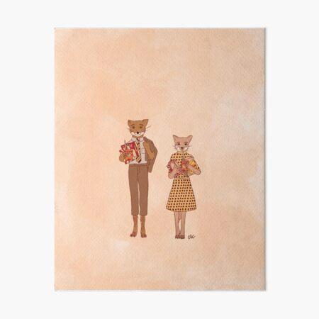 Fantastic Mr. Fox Art Board Print