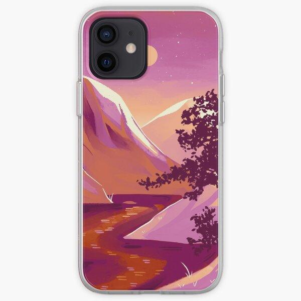 Lesbian Pride Mountain iPhone Soft Case