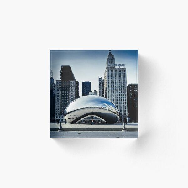 Chicago - Cloud Gate Acrylic Block