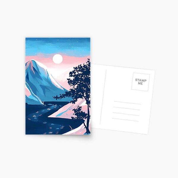 Transgender Pride Mountain Postcard