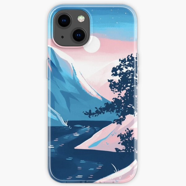 Transgender Pride Mountain iPhone Soft Case