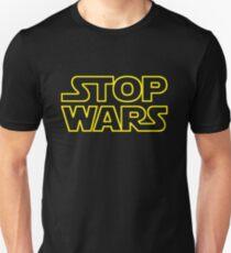 Arrêtez les guerres T-shirt ajusté