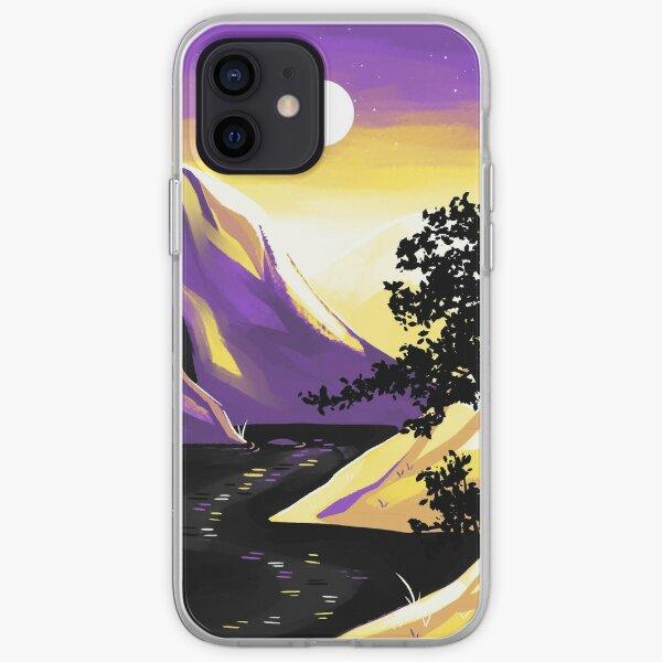 Nonbinary Pride Mountain iPhone Soft Case