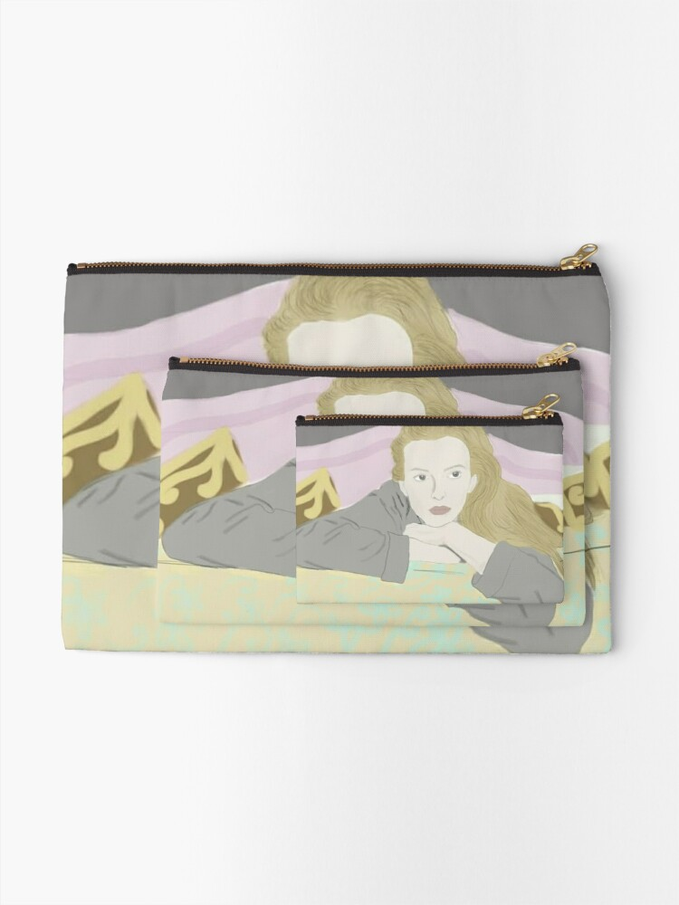 Alternate view of Villanelle Season 2 Portrait Zipper Pouch