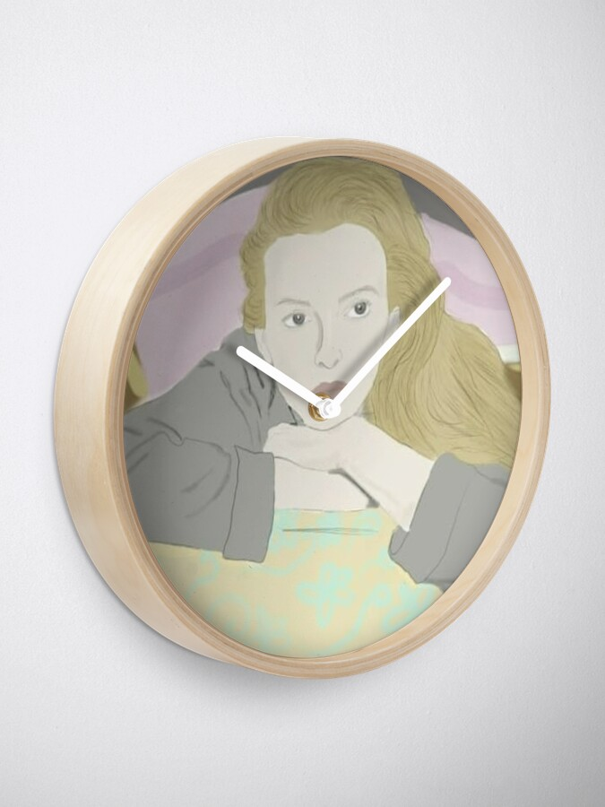 Alternate view of Villanelle Season 2 Portrait Clock