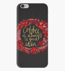 Coffee on Charcoal iPhone Case