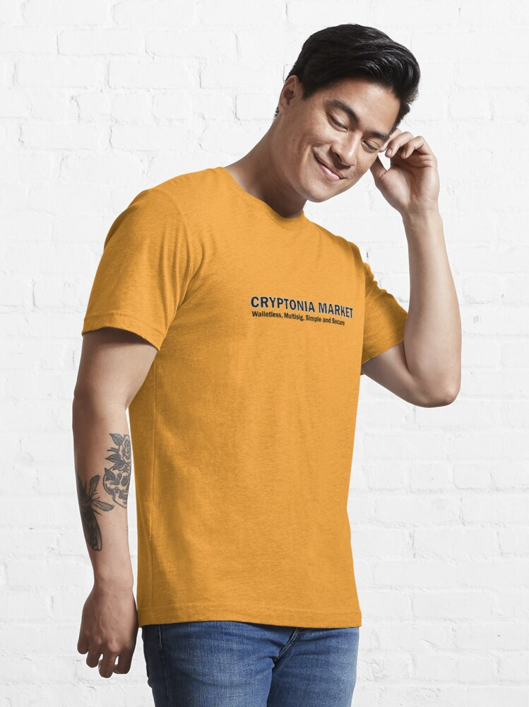 Alternate view of Cryptonia Market! Essential T-Shirt