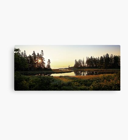 Southport Island,  Maine - 6AM Sunday Morning Canvas Print