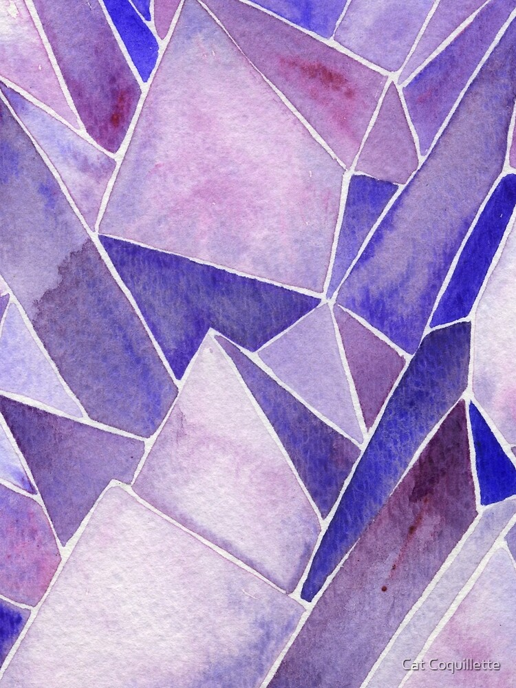 Watercolor Amethyst by catcoq