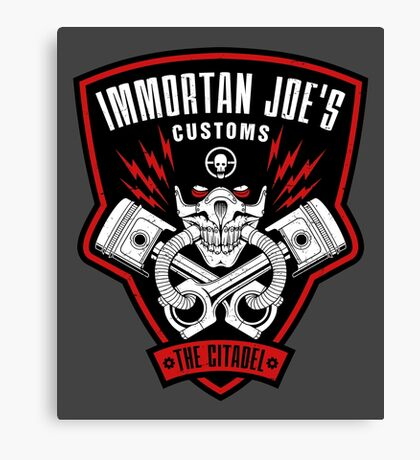 Immortan Joe's Customs Canvas Print