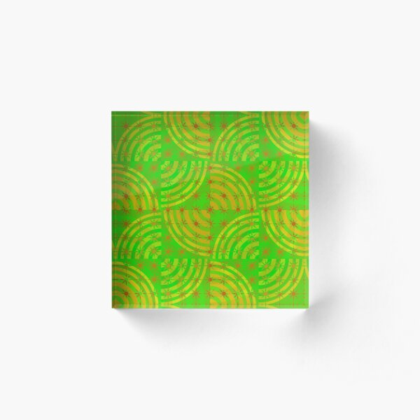 on-grid Acrylic Block