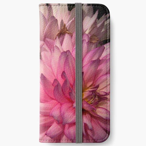 Pink Dahlias from A Gardener's Notebook iPhone Wallet