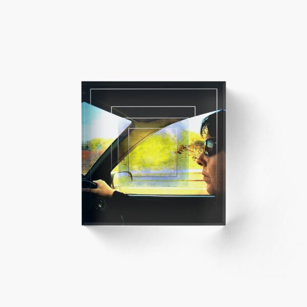 The Driver Acrylic Block