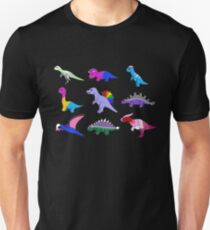 Stolz-Dinosaurier Slim Fit T-Shirt