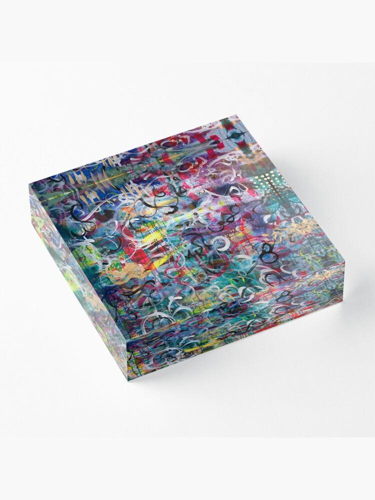 Alternate view of Twirl Me Acrylic Block