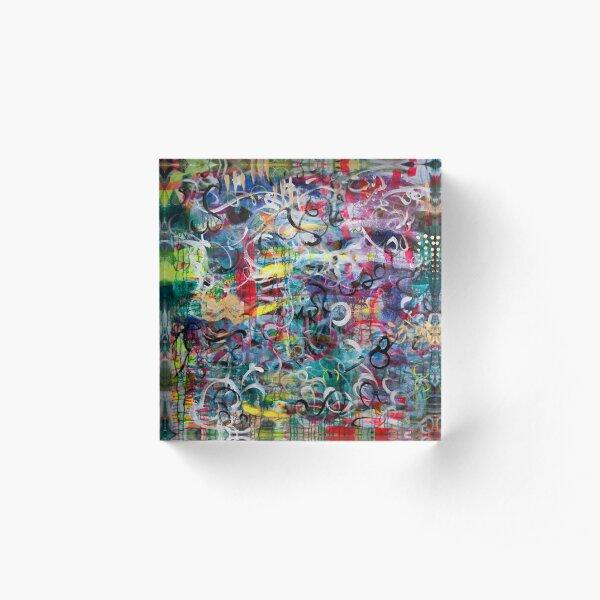Twirl Me Acrylic Block