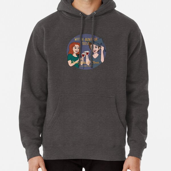Witch Hunt or Bust Pullover Hoodie