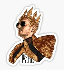 King Bill - Black Text Sticker