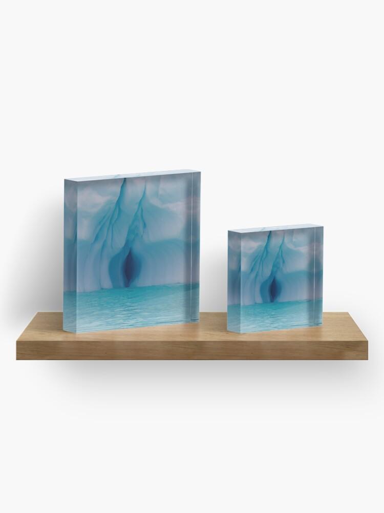Alternate view of Ice, ice, baby Acrylic Block