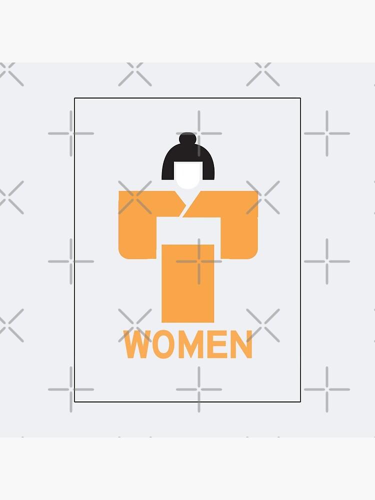 Geisha Women Toilet Sign, Japan by worldofsigns