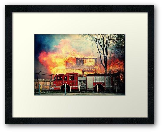 Detroit Fire Department  by Malena Fryar
