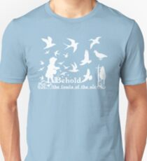 MAT 6:26 BEHOLD THE FOWLS OF THE AIR T-Shirt