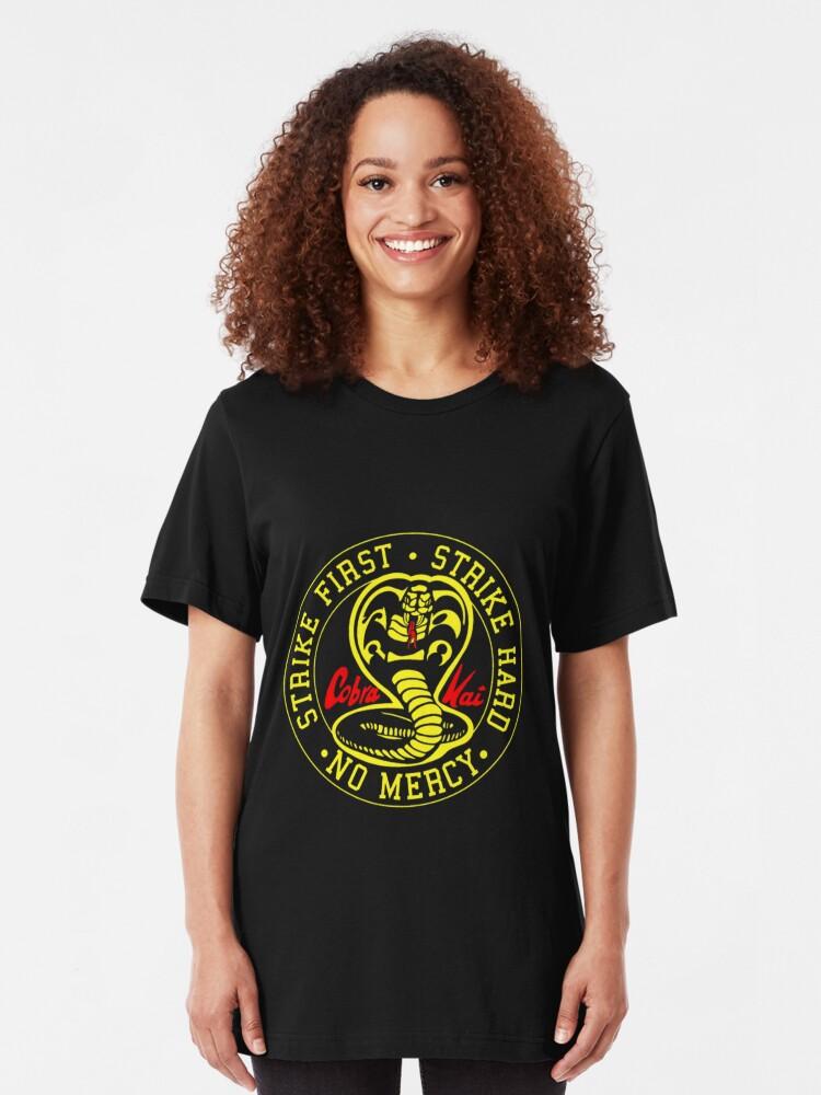 Alternative Ansicht von cobra kai Slim Fit T-Shirt