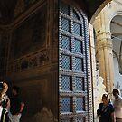 Palazzo Vecchio door by Karen E Camilleri