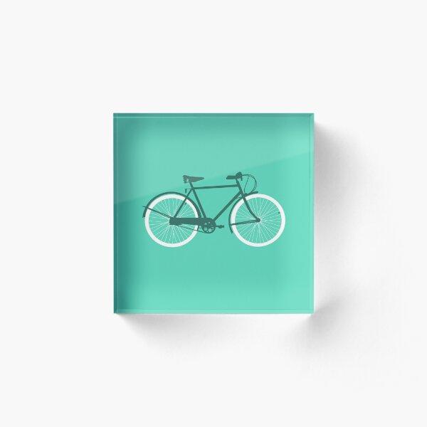 Bike 2 Acrylic Block