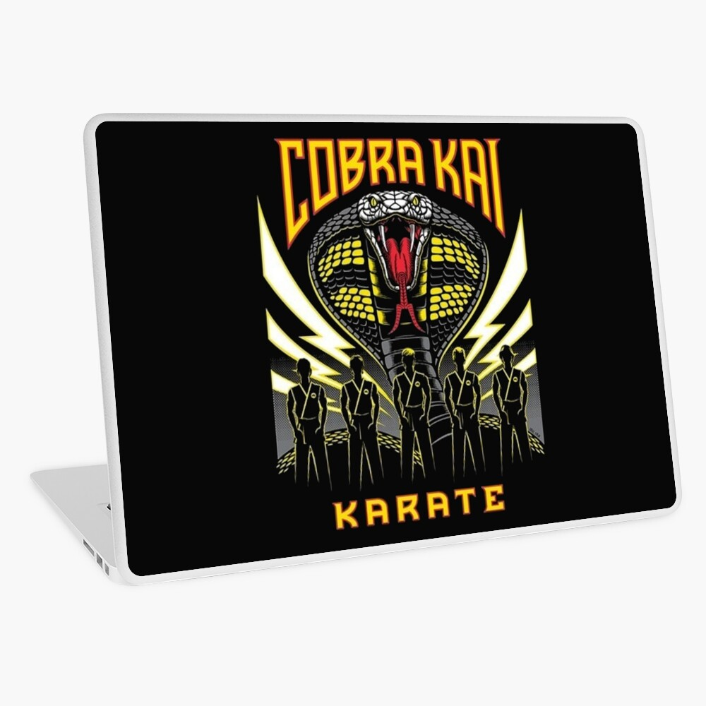 cobra kai Laptop Folie