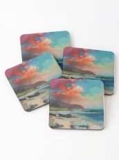 Rum From South Uist Coasters