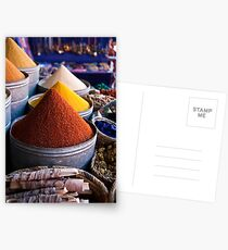 Spices of Marrakesh Postcards