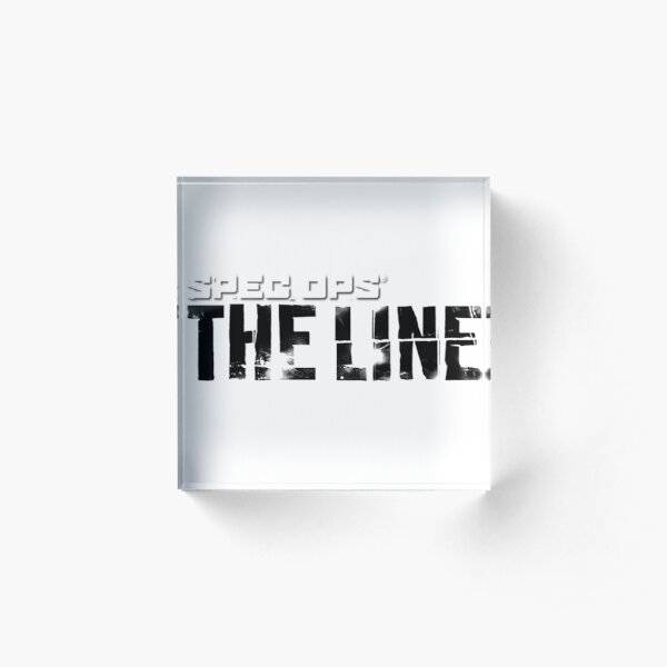 Spec Ops : The Line Acrylic Block