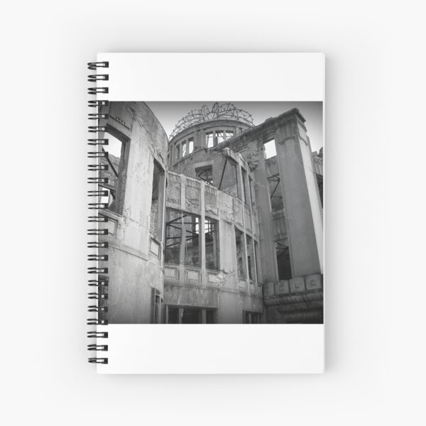 Genbaku Domu (Atomic Bomb Dome, Hiroshima, Japan) Spiral Notebook