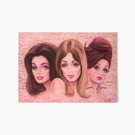 VALLEY OF THE DOLLS Art Board Print