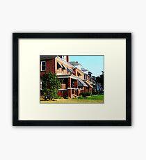 Hey there neighbor! Framed Print