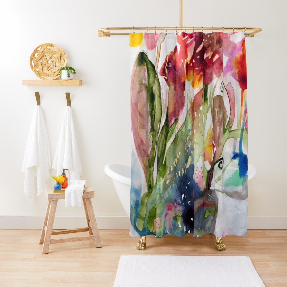 floral whimsy Shower Curtain