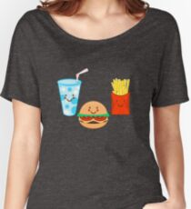 HAPPY MEAL Women's Relaxed Fit T-Shirt