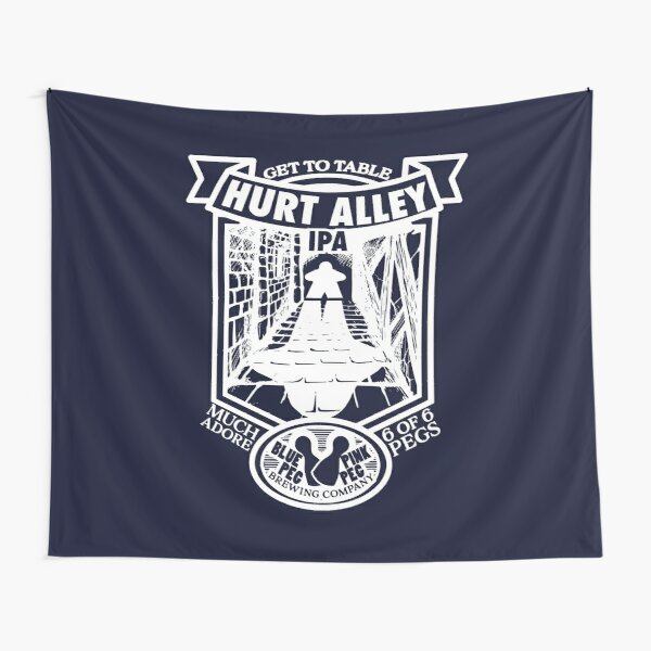 Hurt Alley Tapestry