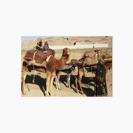 Family of wandering tribes (Afghanistan) Art Board Print